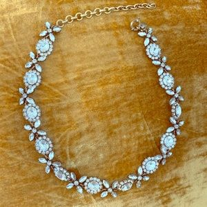 Jcrew rhinestone adjustable choker